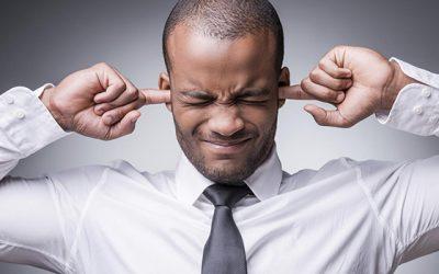 Los ruidos fuertes dañan la audición